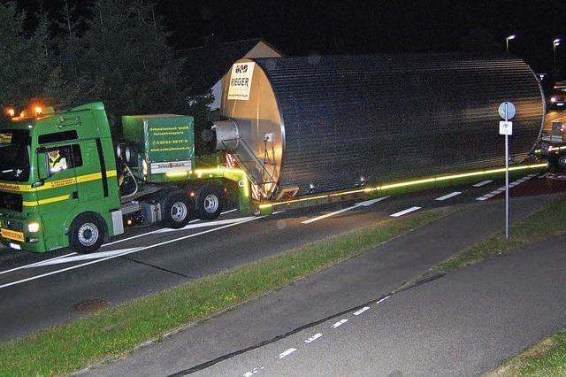 Straßensperren für XXL-Fässer