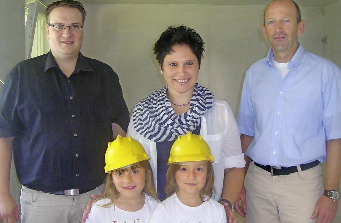 Kindergartengeschäftsführer Mario Isel...chritte im Kindergarten St. Bernhard.     Foto: Albicker