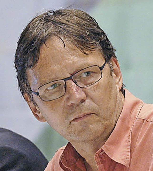Franz Schmider, BZ-Moderator  | Foto: Volker Münch