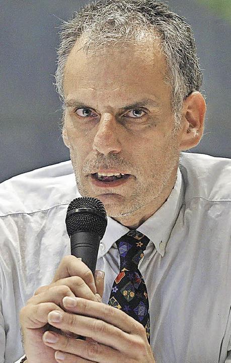 Rainer Wolf, Die Linke  | Foto: Volker Münch