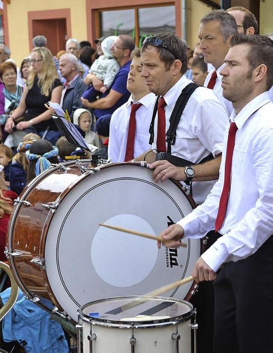 Auch der Umkircher Musikverein wirkt am Wochenende wieder am Gemeindefest mit.    Foto: manfred frietsch