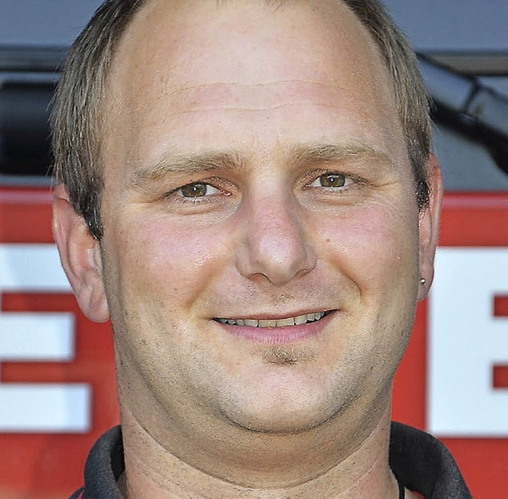 Christian Schuler, Feuerwehrkommandant St. Märgen    Foto: Alexandra Wehrle