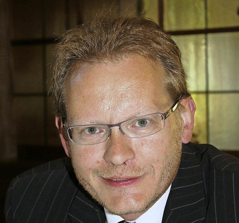 Thomas Dörflinger, CDU    Foto: Christa Maier