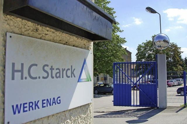 H.C. Starck: Ja zum Probebetrieb