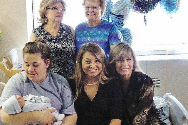 In einer kanadischen Familie leben sechs Generationen