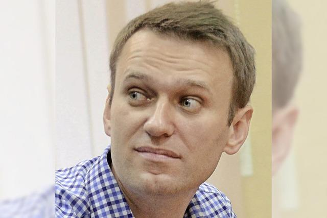 Keine Gnade für Nawalny