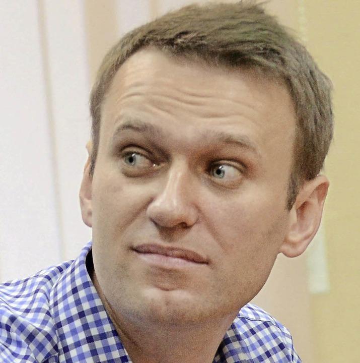Alexej Nawalny  | Foto: dpa
