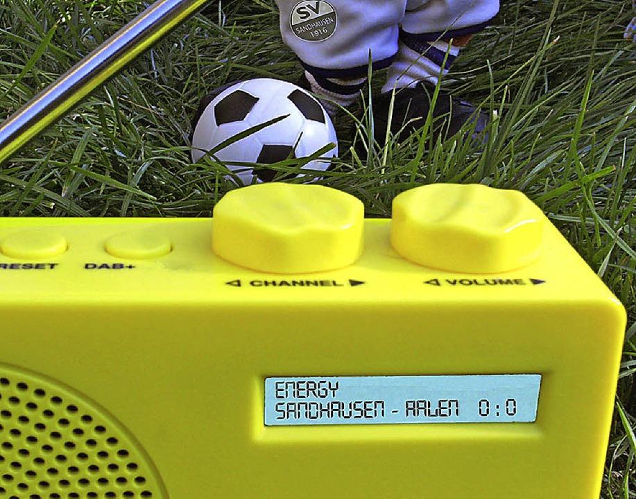 Mit dem Baden-Württemberg-Derby  SV Sa...  die Bundesligasaison im Digitalfunk.    Foto: HANIK