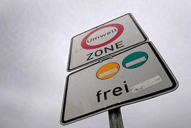 Autofahrer ohne Umweltplakette müssen künftig 40 Euro zahlen