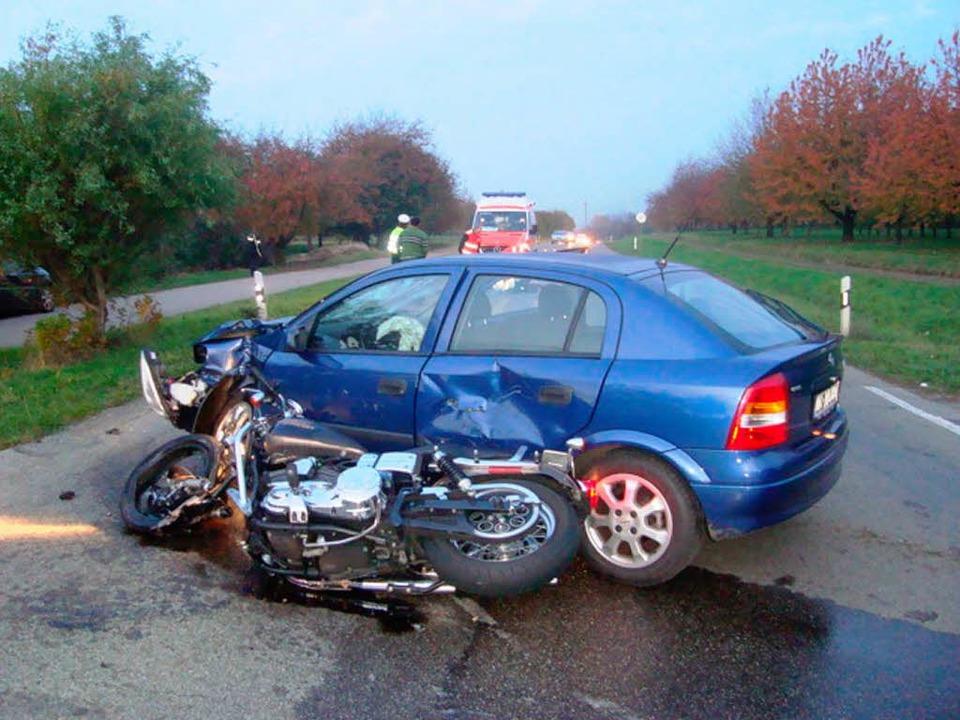 Einer der Unfälle in diesem Jahr.