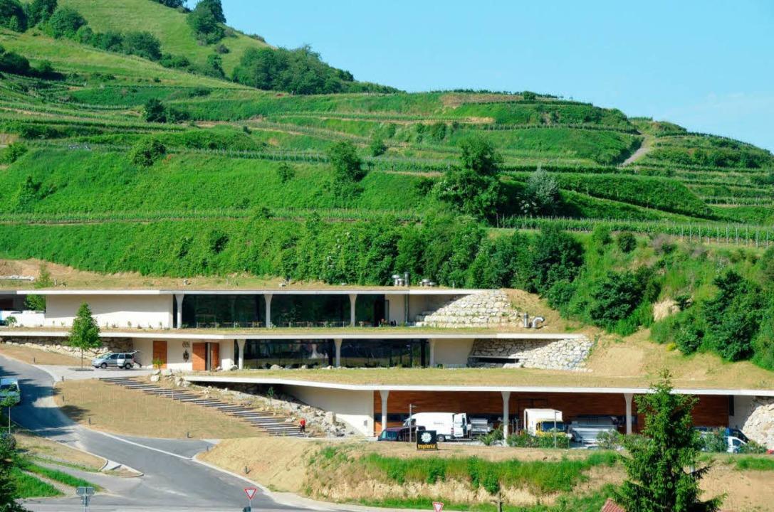 Das neue Weingut  | Foto: Gerold Zink