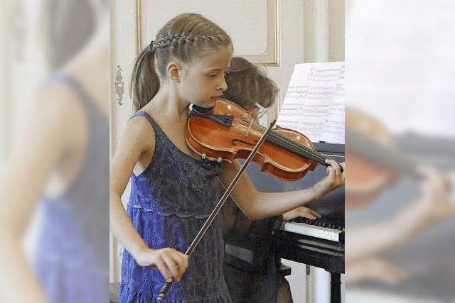 Talent und Fleiß im Duett