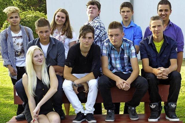 Zehn Schüler, ein Ziel