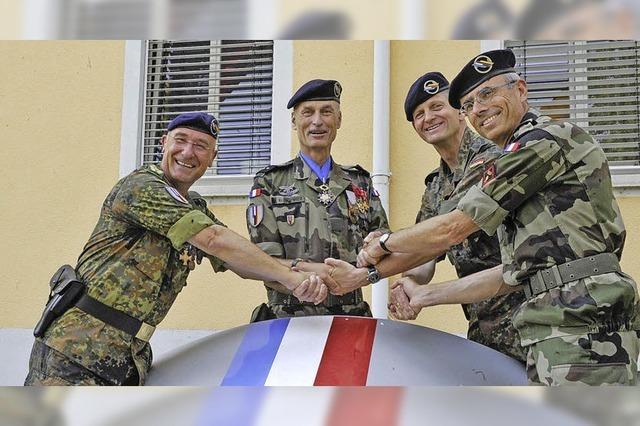 Deutsch-Französische Brigade: Das Kommando wechselt