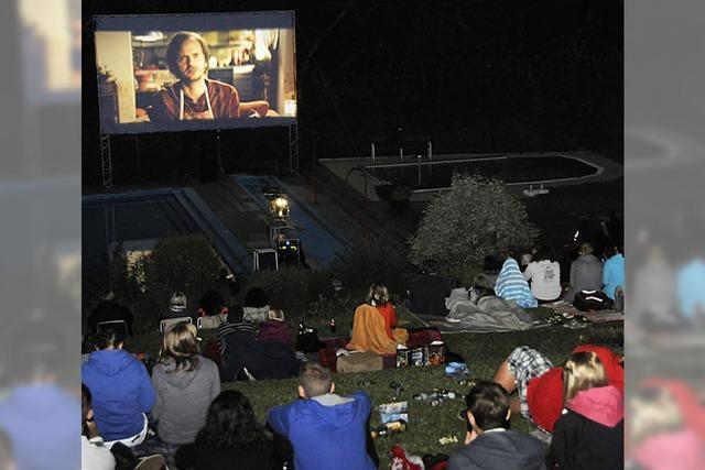 Open Air Kino klappt im zweiten Anlauf