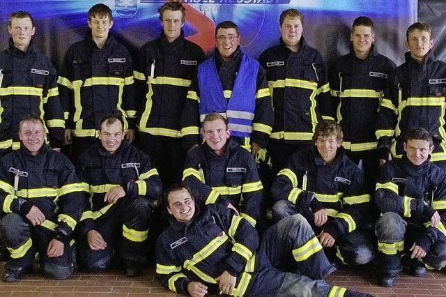 St. Märgener Feuerwehr holt goldenes Abzeichen