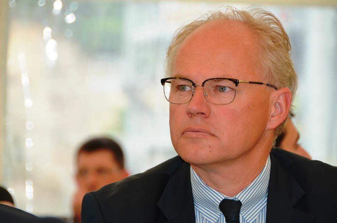 Martin Ogilvie vom Bundesverband der deutschen Kalkindustrie    Foto: langelott
