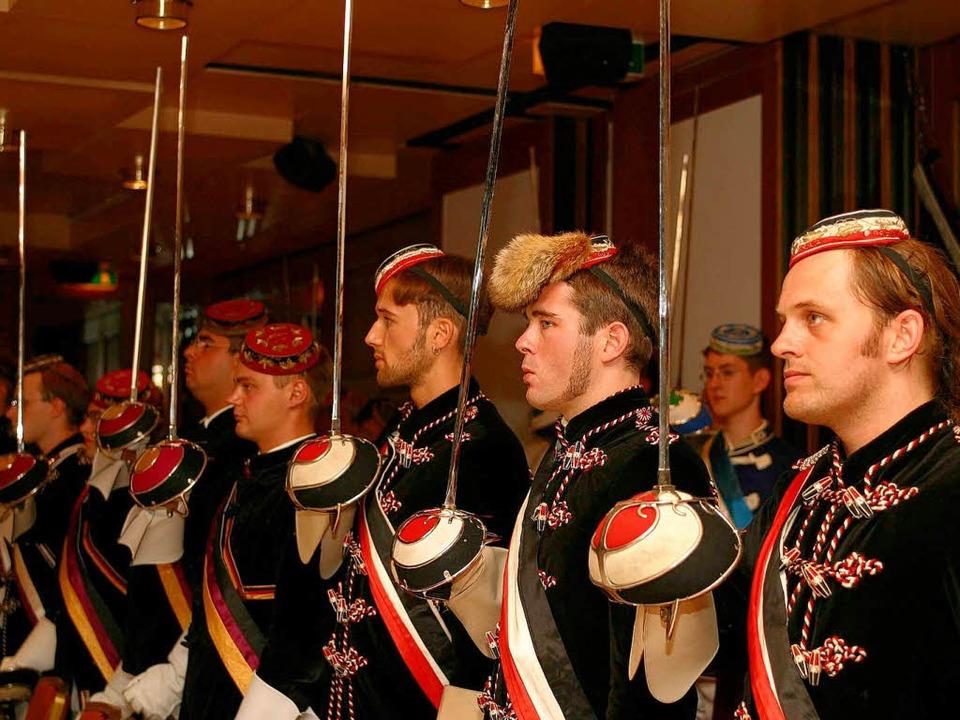 Mitglieder der Freiburger Teutonia (Archivbild)  | Foto: Rita Weber-Eggstein