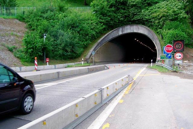 Erste Superbaustelle kommt: Hugenwaldtunnel zehn Wochen gesperrt