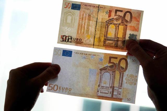 Betrüger drucken mehr Euro-Blüten