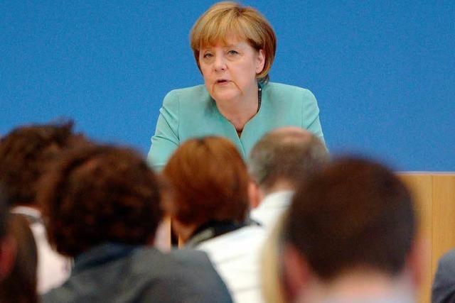 Angela Merkel schwärmt von ihrer Regierungsarbeit