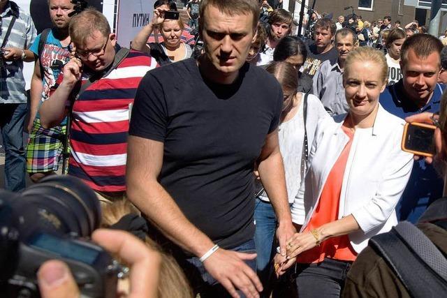 Machtspiele: Kremlkritiker Nawalny vorerst wieder frei