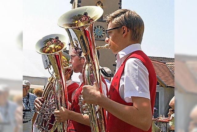 Sommerfest im Pfarrgarten