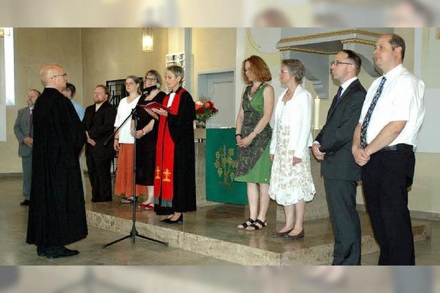 Die Kirche geöffnet