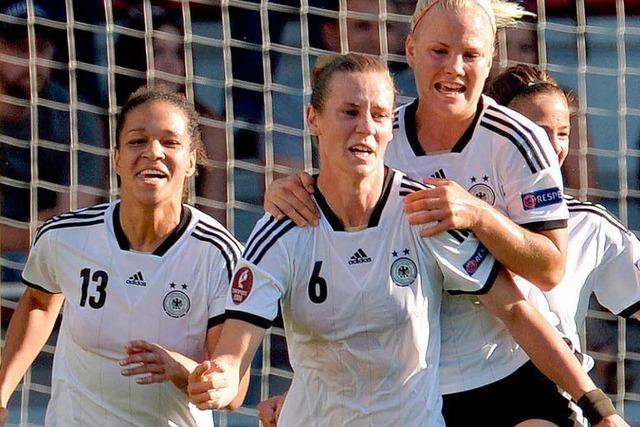 Simone Laudehr schießt deutsche Elf ins Halbfinale