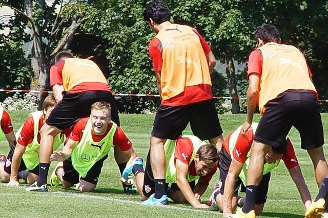 VfB Stuttgart trainiert zum achten Mal in Donaueschingen