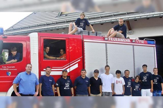 Gute Jugend in der Feuerwehr