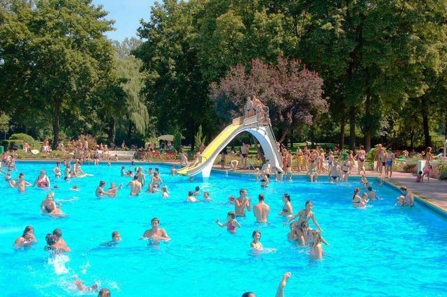 Das Breisacher Waldschwimmbad feierte Geburtstag