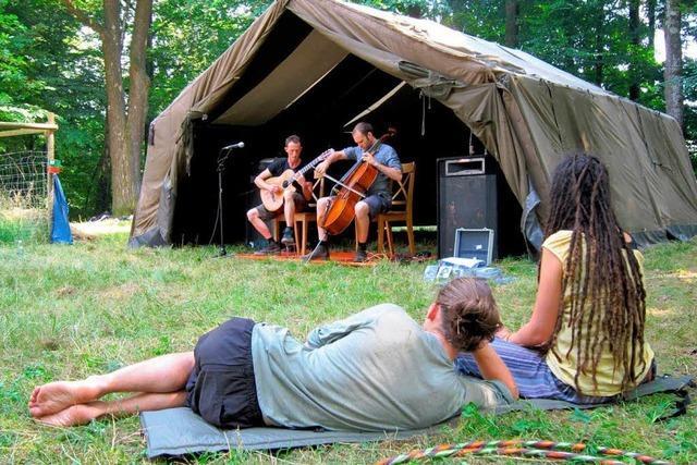 Holzrock-Festival - so bunt wie lange nicht