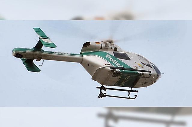 84-Jähriger vermisst: Polizeisuchaktion mit Hubschrauber endet erfolgreich