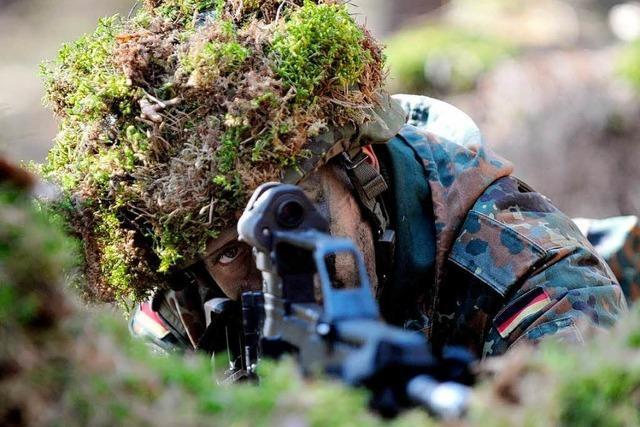 Freiwillige bei der Bundeswehr: Ohne Zwang im Schlamm