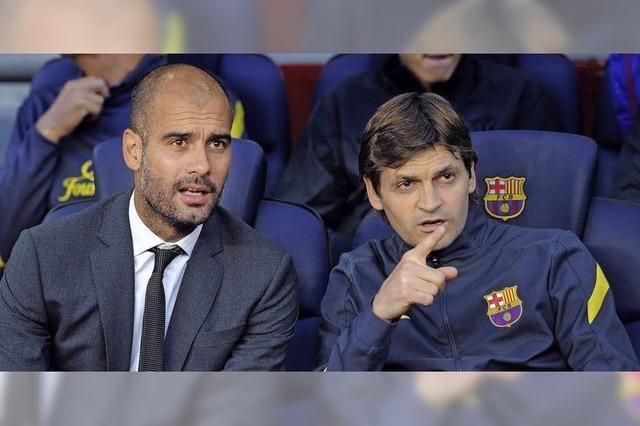 Getrübtes Verhältnis von Guardiola zu Vilanova
