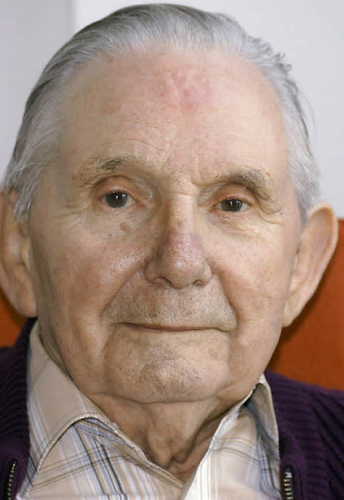 Philipp Brucker (Foto von 2011) ist ge...rstorbenen Buchhändler Edwin Baumann.   | Foto: fotos: Janz/Fössel