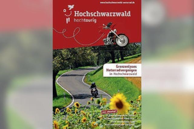 Motorradvergnügen im Hochschwarzwald