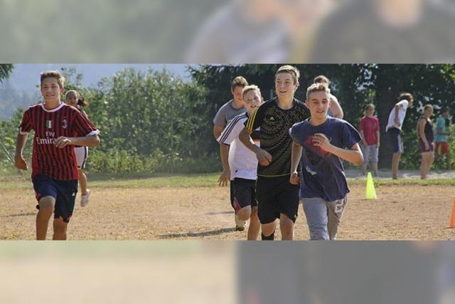 Sportliches Ende des Schuljahrs