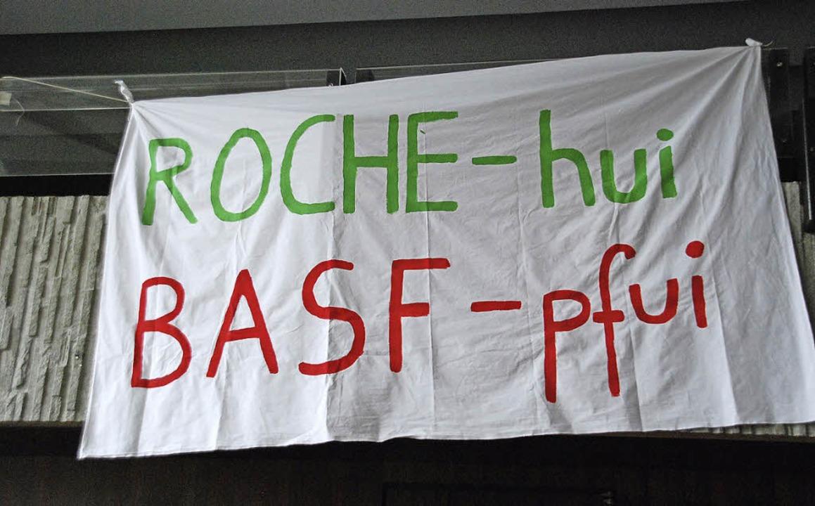 Der Protest im Festsaal war unübersehbar.    Foto: Ralf Staub
