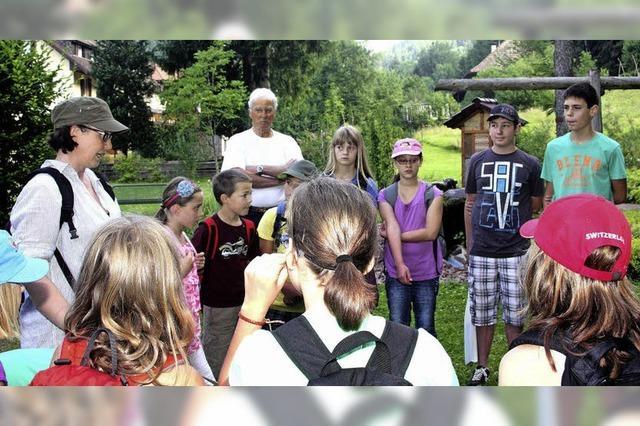 Der Naturpark macht Schule