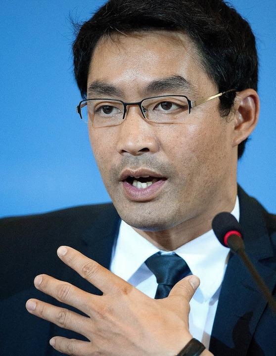 FDP-Chef und Vizekanzler Philipp Rösler   | Foto: dpa