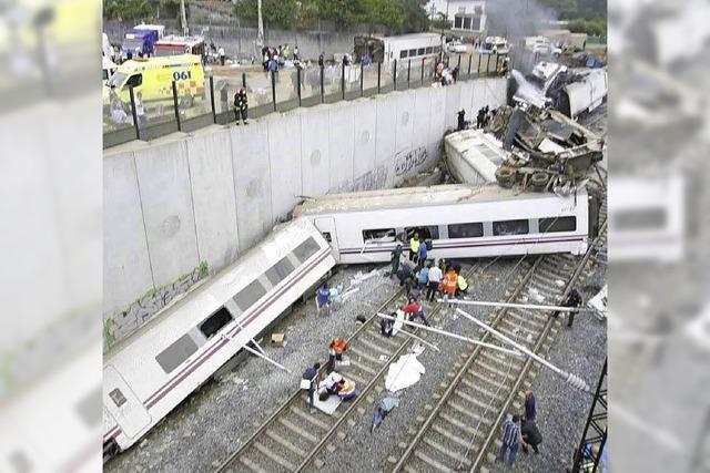 Viele Tote bei Zugunglück