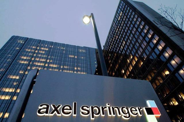 Springer-Verlag verkauft Regionalzeitungen
