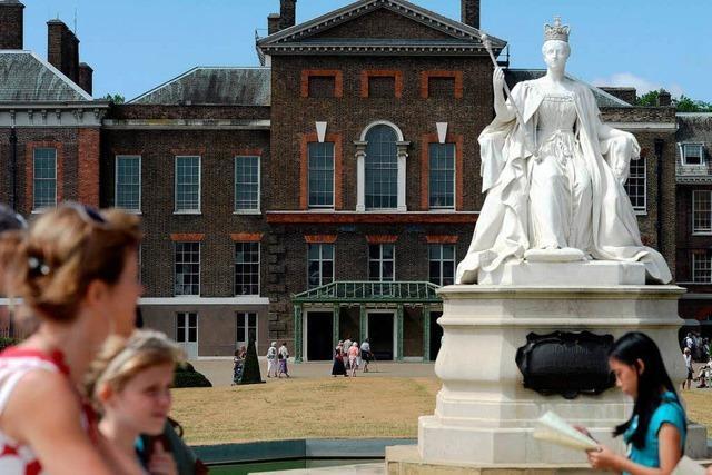 Prince George wird im Kensington Palace aufwachsen