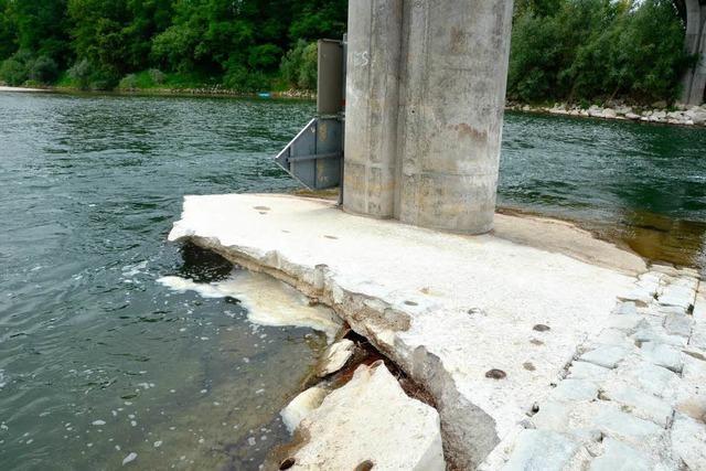 Schönheitsfehler oder Sicherheitsmängel? Ärger um Rheinbrücke