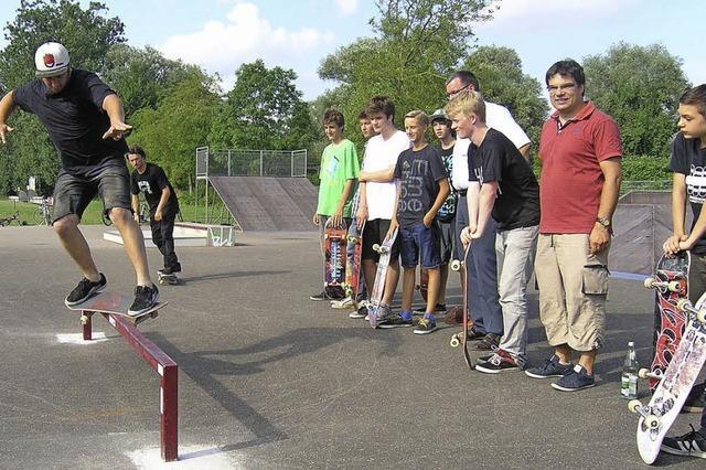 Skater zeigen Initiative