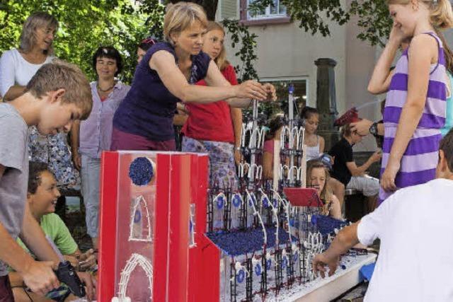 Aus Plastikteilchen wuchs das Freiburger Münster