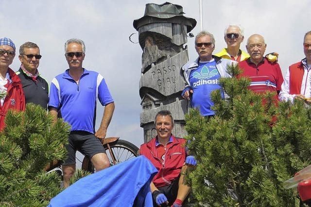 Fahrt durch die Dolomiten war schon eine kleine Sensation
