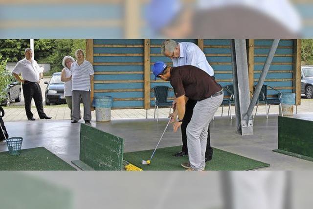 Stippvisite in der Golfwelt